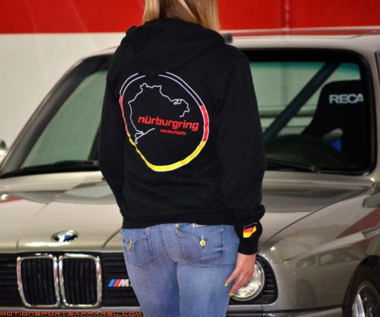 Nurburgring Nordschleife Premium Hoodie Black