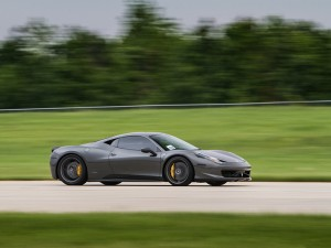 Ferrari 458 Italia at the Track