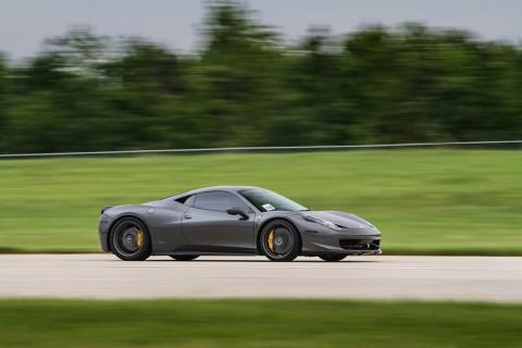 Ferrari 458 Italia at the Track