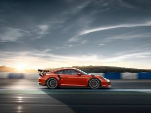 991 GT3 RS at the track